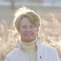 Janine Benyus in grasses 2013